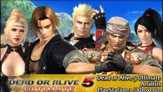 Dead or Alive 5 Ultimate - Análisis