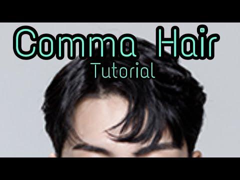 KOREAN COMMA HAIR TUTORIAL | Cara Membuat Rambut Ala Aktor Korea