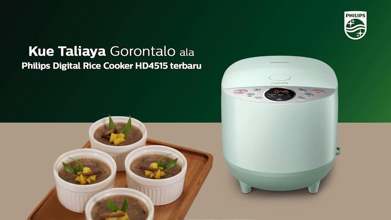 Resep Kue Tiliaya Gorontalo Ala Philips Digital Rice Cooker Youtube Cara menggunakan rice cooker philips