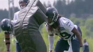 First Look at Shaquem Griffin During Seahawks Rookie Minicamp