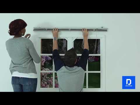 How to install Ready Made 25mm Aluminium Venetian Blinds