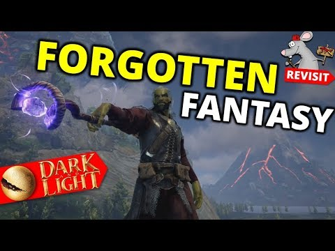 THE FORGOTTEN FANTASY SURVIVAL GAME! Dark And Light 2019
