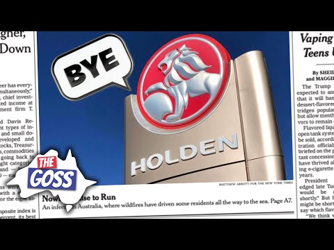 AE 651 The Goss: Holden Closes, Crazy Nike Shoes