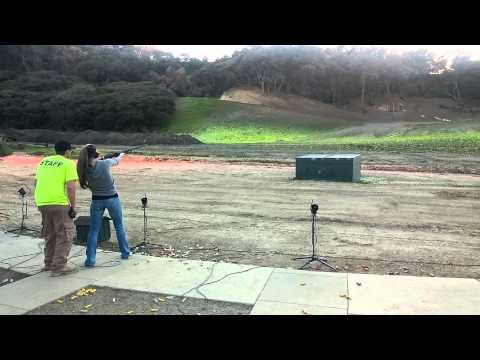 TINA MCDONALD  SKEET SHOOTING
