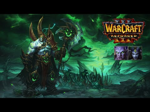 Warcraft III Reforged | Burning Legion Race Gameplay | Archimonde & Kil'Jaeden Models