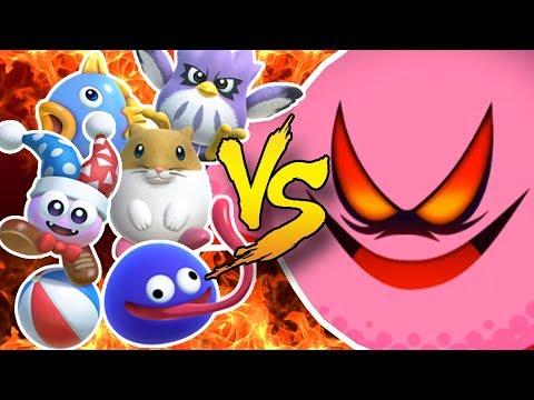 Kirby, Marx, Gooey, Rick, Kine, & Coo VS SECRET FINAL BOSS! [Soul Melter]