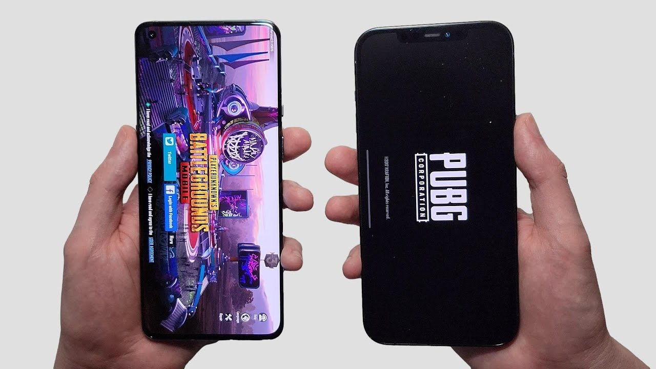 OnePlus 9 Pro vs iPhone 12 Pro Max Speed Test, Speakers, Battery & Cameras!
