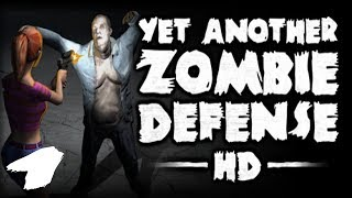 """The FGN Crew Plays: YET ANOTHER ZOMBIE DEFENSE HD #1 """"Survive the Night"""""""
