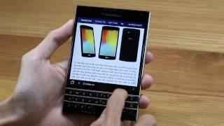 Tinhte.vn - Tính năng cảm ứng trên bàn phím của BlackBerry Passport