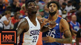 Phoenix Suns vs Philadelphia Sixers Full Game Highlights / July 12 / 2018 NBA Summer League