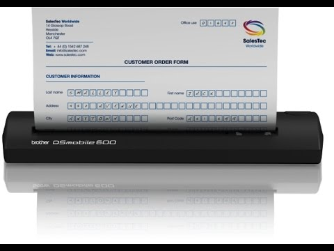 BROTHER MOBILE DS600 DRIVER DOWNLOAD FREE