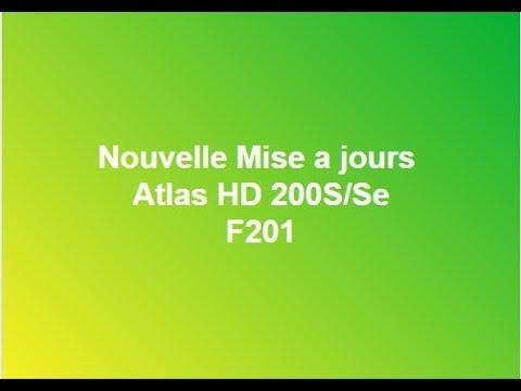 A JOUR ATLAS F201 MISE TÉLÉCHARGER HD 200S 2017