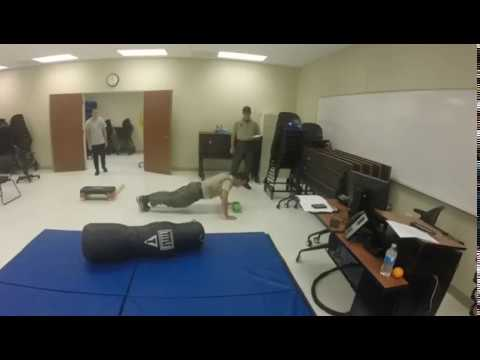 Wildlife Officer Physical Abilities Test Scenario