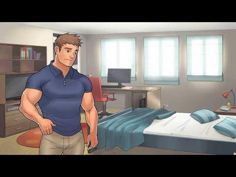 Super Health Club - Thomas history scene Day34 (hidden scene)(Thomas storyline route)