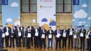 Cloud Ecosystem - Übergabe der Qualitätszertifikate auf dem Winter Summit 2015