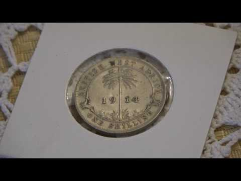 1914 British West Africa 1 Shilling