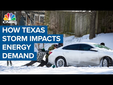 How the Texas winter storm is impacting energy demand