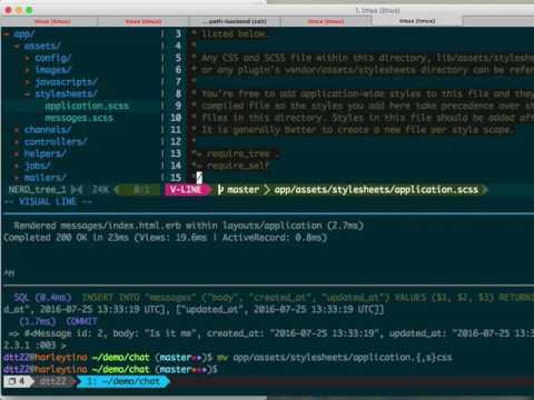 CS-R3 Lecture 4 - Javascript and AJAX on Rails 5