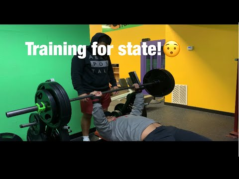 Training For State Powerlifting Meet! | Missouri State Powerlifting Meet! |