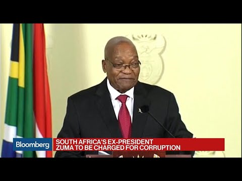 Former South African President to Be Charged for Corruption