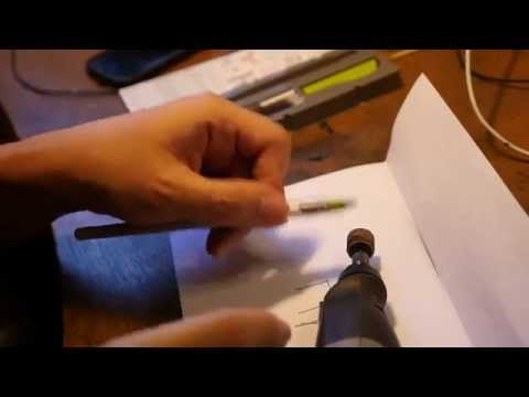 How to grind a Pilot Parallel Pen