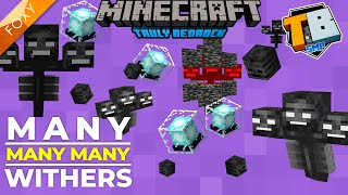MANY MANY WITHERS | Truly Bedrock Season 2 [25] | Minecraft Bedrock Edition 1.16 SMP