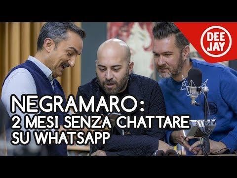 """Negramaro, la crisi prima del nuovo disco: """"Siamo stati 2 mesi senza chattare su whatsapp"""""""