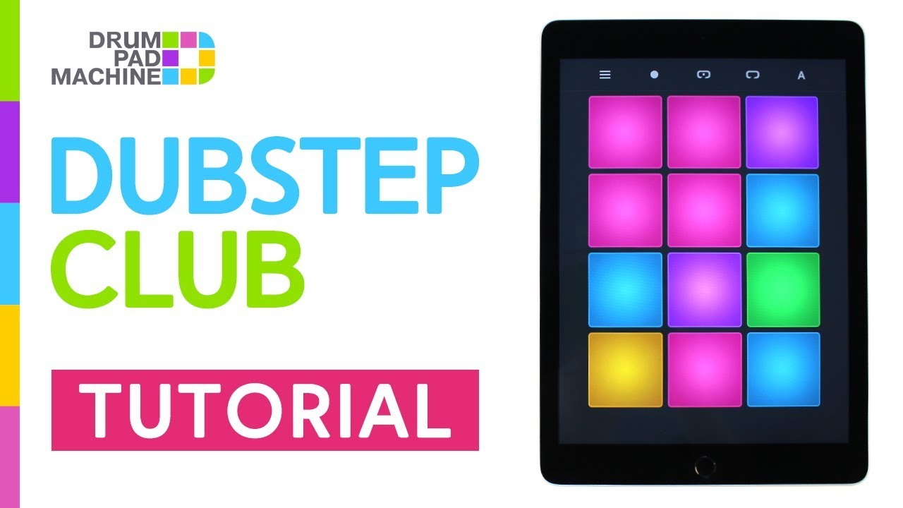 how to play dubstep club drum pad machine youtube. Black Bedroom Furniture Sets. Home Design Ideas