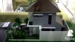 MAKET contoh rumah ||| klaster TAMAN SIMPRUK SUMMERBLIS LIPPO CIKARANG. West Java Indonesia