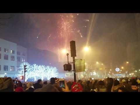 White Plains - NY - Ball Drop. Happy New Year  2017