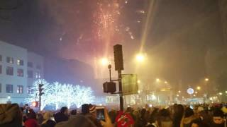White Plains - NY - Ball Drop. Happy New Year  2017