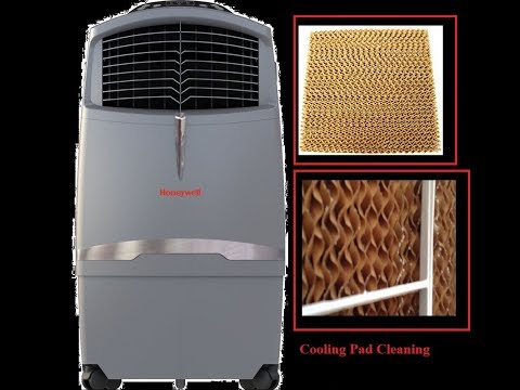How to cleaning your CO30XE CL30XC Indoor Outdoor Honeywell Air Coolers Cooling Pad