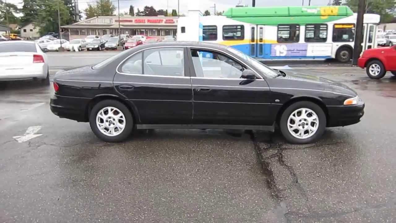 2000 oldsmobile intrigue black stock 11282