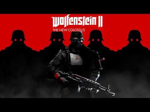WOLFENSTEIN 2: New Colossus...Прохождение #18+ Много мата