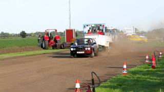 Carpulling Snelrewaard 2011 Just For Fun 1ste manche autotrek