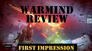 Warmind Review! First impressions. Was it good!?