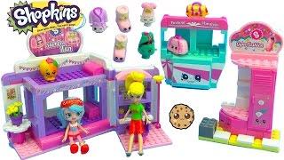 Shoppies Jessicake & Polly Pocket Go To Shopkins Slumber Party Fun Kinstructions Playset