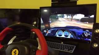 Thrust master Ferrari 458 Spider Racing Wheel Review