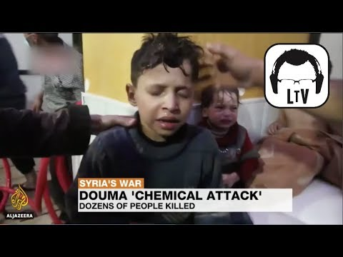 Chemical Weapons Attack in Syria + Stock Market Crash