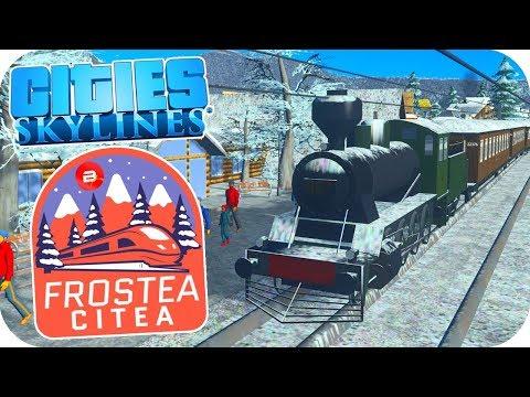 Dams & Steam Trains! Cities: Skylines ❄️Project Dam Snow!❄️#6