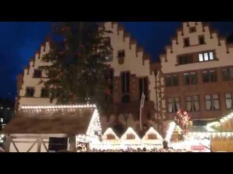 FRANKFURT NEWS - Eröffnungsfeier Frankfurter Weihnachtsmarkt 2016