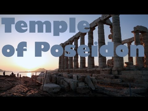 The Temple of Poseidon - Cape Sounion, Greece