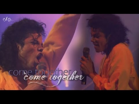 Michael Jackson - Come Together (Moonwalker) HD