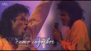Michael Jackson - Come Together (Moonwalker) HD