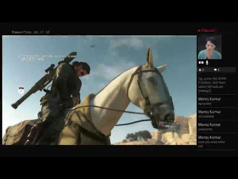 [LIVE] Metal Gear Solid V The Phantom Pain [Back Up Back Down ] 720p Low