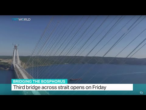 Bridging The Bosphorus: Third bridge over Bosphorus Strait o