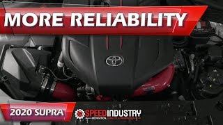 Upgraded the charge and intake pipes w/ FTP | GR Supra