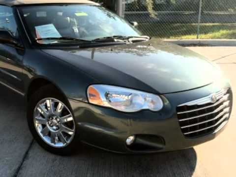 2004 Chrysler Sebring 2dr Convertible Limited Top