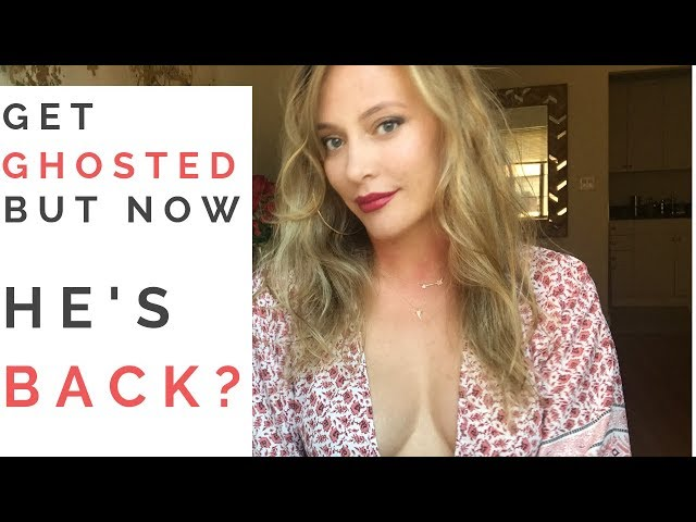 GHOSTING: What To Do When A Guy GHOSTS YOU And Then Suddenly Reappears! |  Shallon Lester