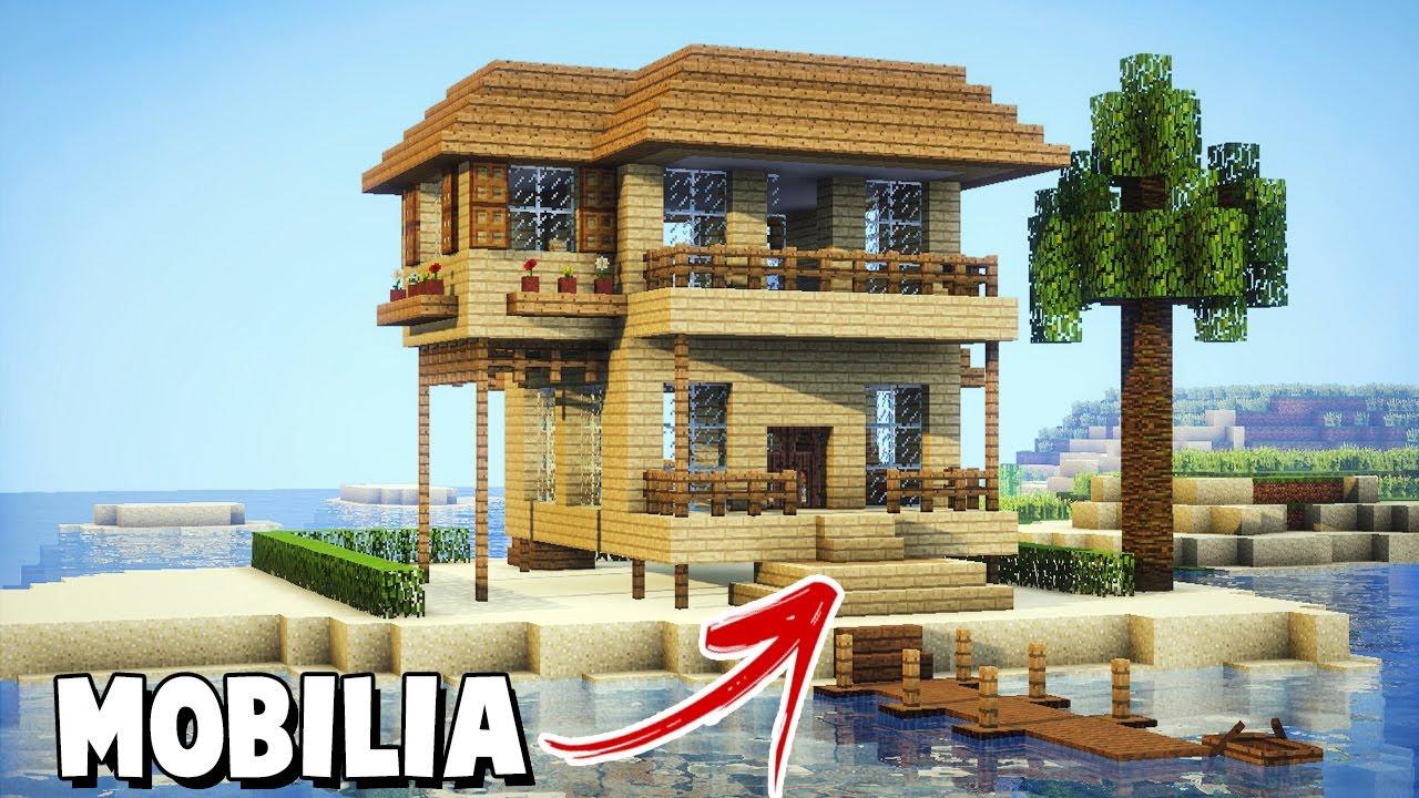Minecraft Tutorial Como Mobiliar Uma Casa De Praia